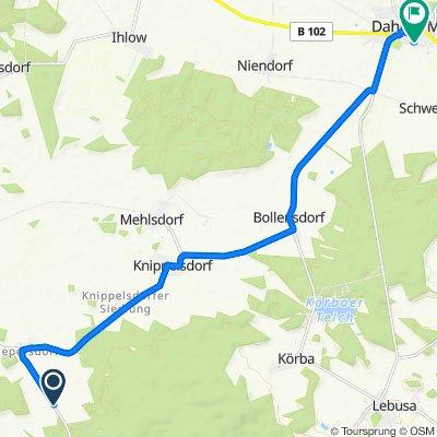 L721, Schönewalde nach Mittelstraße 17, Dahme/Mark