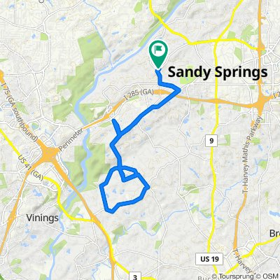 645 River Valley Rd, Sandy Springs to 645 River Valley Rd, Sandy Springs