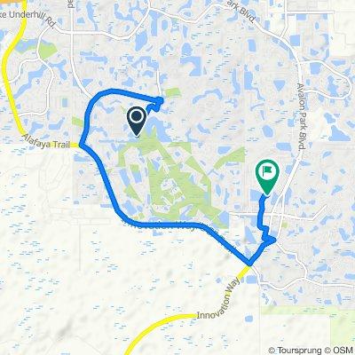 13950 Golfway Blvd, Orlando to 2827 Wild Tamarind Blvd, Orlando