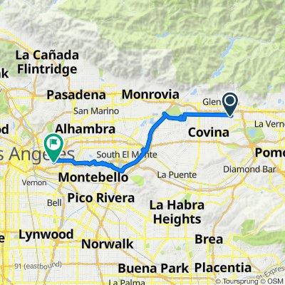 909 Ivy St, Glendora to 231 N Eastman Ave, Los Angeles