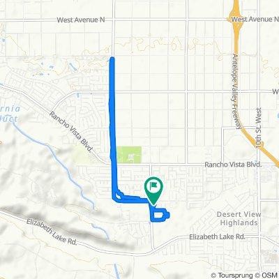39130 Silverberry Ln, Palmdale to 39130 Silverberry Ln, Palmdale