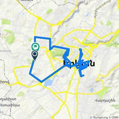 От Yerevan до Sebastia Street 19, Yerevan