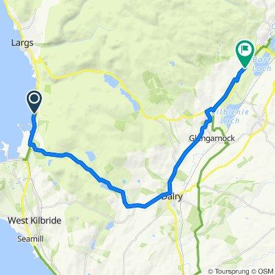 Fairlie House, Main Road, Largs to Barn Cottage, Kilbirnie Road, Lochwinnoch