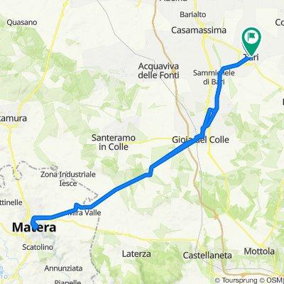 Da Via Nicola Colapinto 22, Turi a Via Cavour 19–23, Turi