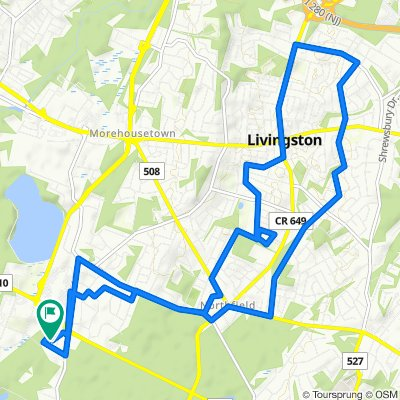129 Turlington Ct, Livingston to 606 Turlington Ct, Livingston
