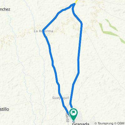 De Carrera 13 Via Nacional 65, Granada a Carrera 13, Granada