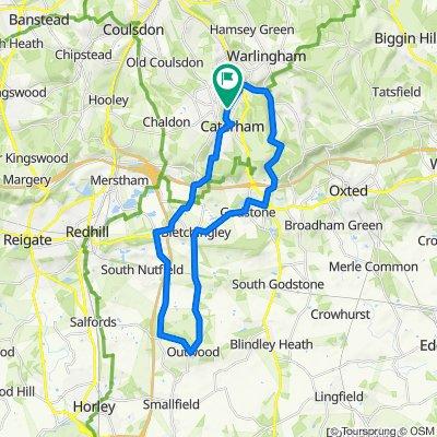 Caterham/Nutfield/Outwood/Bletchingley/Godstone