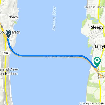 282 S Broadway Ave, South Nyack to 333 S Broadway, Tarrytown