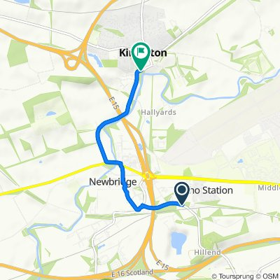 Baird Road, Ratho Station, Newbridge to Gladden, 8 Path Brae, Kirkliston