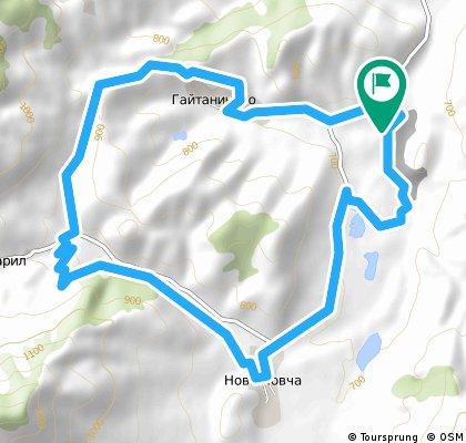 South Pirin: Ecozone White Rocks