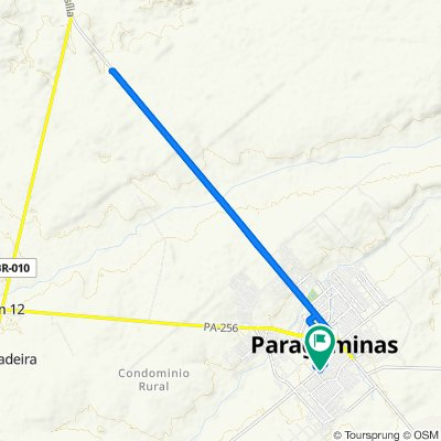 De Rua Almenara, 151–227, Paragominas a Rua Almenara, 229–291, Paragominas