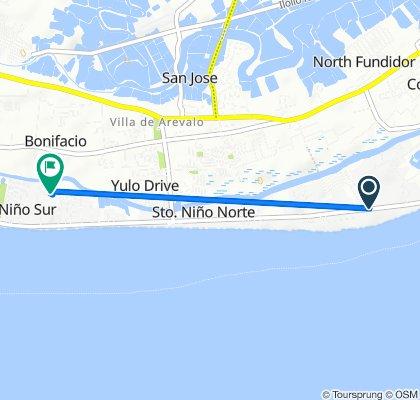 Slow ride in Iloilo City