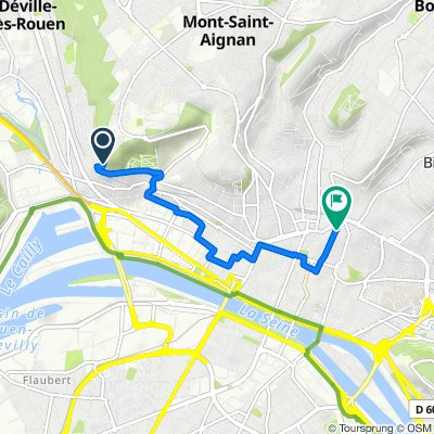 Itinéraire vers 173 Rue Beauvoisine, Rouen