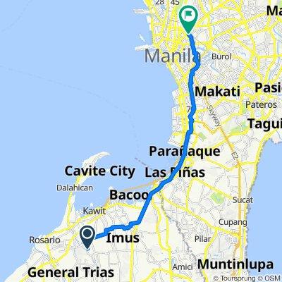 Cavite, Imus to Philippines, Manila