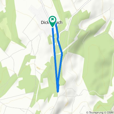 Gasse 4, Dickesbach nach Gasse 4, Dickesbach