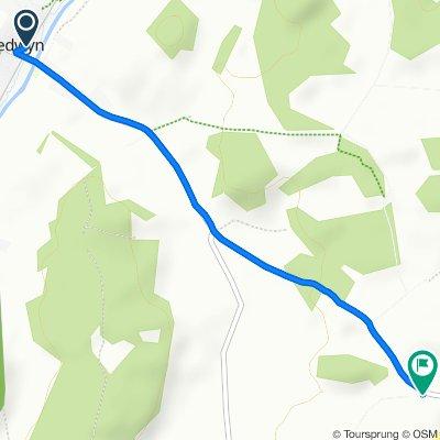 4 The Knapp, Great Bedwyn, Marlborough to Shalbourne Road, Great Bedwyn, Marlborough