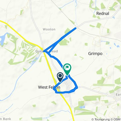 4 The Avenue, Oswestry to 25 Orchard Drive, Oswestry