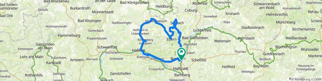 2020-09-27 Bahnradtour Coburg