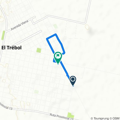 Entre Rios, El Trebol to Rio Negro 1188, El Trebol