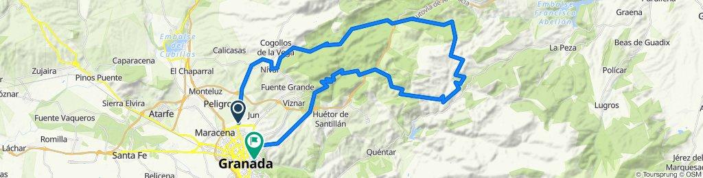 Nívar - Puerto de los Blancares