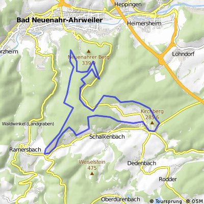 Ab Klimastation nach Ramersbach,Königsfeld