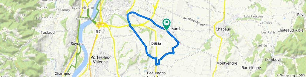 De 2 Allée du Champ de la Lyre, Malissard à 2 Allée du Champ de la Lyre, Malissard