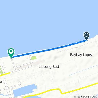 Route to Baywalk, Lingayen