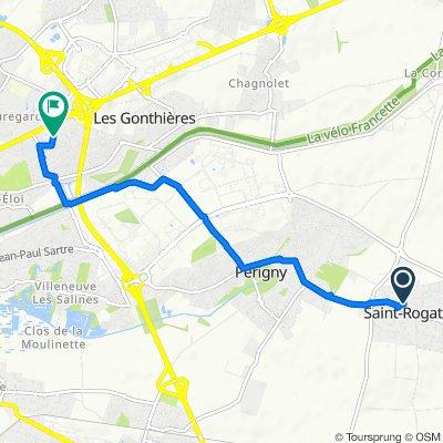 De 11 Rue du Four, Saint-Rogatien à 11 Rue des Glaïeuls, La Rochelle