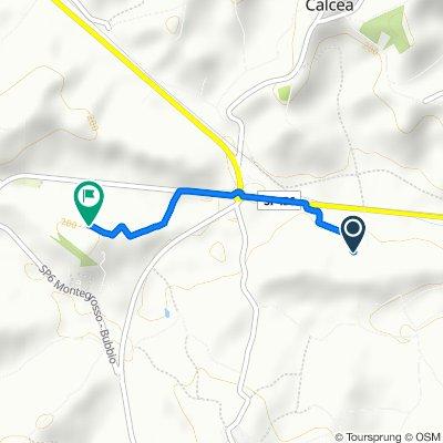 via opessina 4, Castelnuovo Calcea nach Strada Provinciale 59 25, Agliano