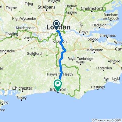 TLA/SEACHANGE London To Brighton Bike Ride 2020