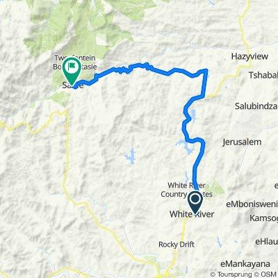 White River to Sabie via Kiepersol