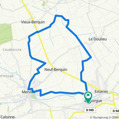 De Rue Saint-Roch 5, La Gorgue à Rue Saint-Roch 5, La Gorgue