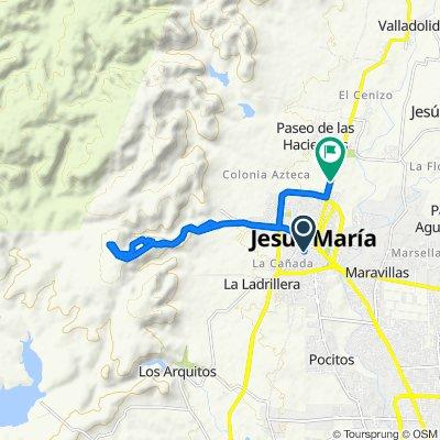 De Hernández 250, Jesús María a Emiliano Zapata, Jesús María