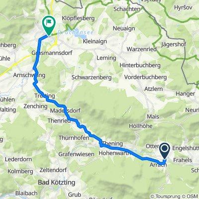 Eckstraße 5, Arrach nach Kellnergasse 2A, Furth im Wald