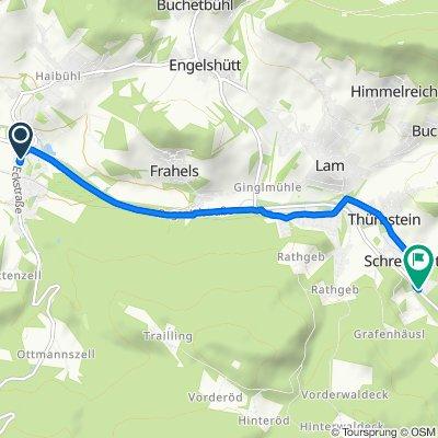 Eckstraße 5, Arrach nach Silbersbacher Straße 1, Lohberg