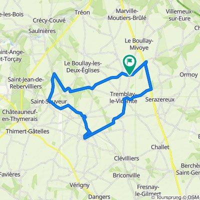 De 12–16 Rue de l'Arche, Tremblay-les-Villages à 9–21 Rue de l'Arche, Tremblay-les-Villages