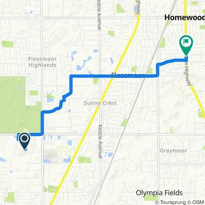 130 Sundance Rd, Matteson to 18811 Dixie Hwy, Homewood