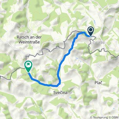 Route von Wielitsch 34, Ehrenhausen an der Weinstraße