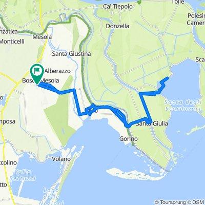 Da Via Sacche 103, Bosco Mesola a Via Sacche 109/B, Bosco Mesola