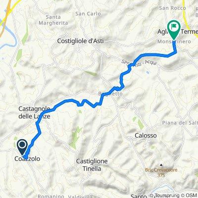SP39c 9, Coazzolo naar Regione Monsarinero 2, Agliano