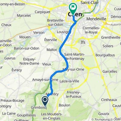 Itinéraire vers Esplanade Jean-Marie Louvel, Caen