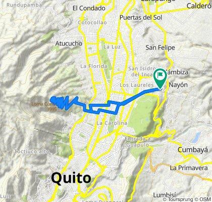 Nayón - Antenas del Volcán Pichincha