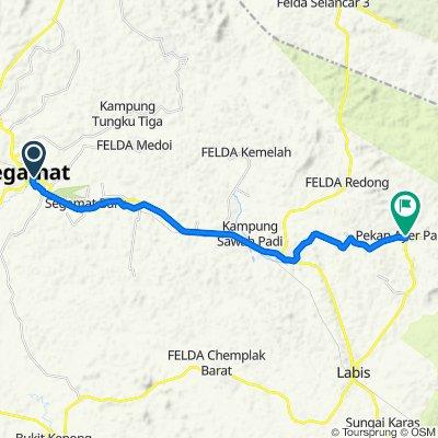 Jalan Utama 2/3 1, Segamat to J151 37, Labis