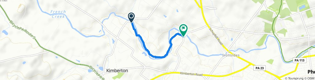 1131–1139 Hares Hill Rd, Phoenixville to 1145–1147 Rapps Dam Rd, Phoenixville