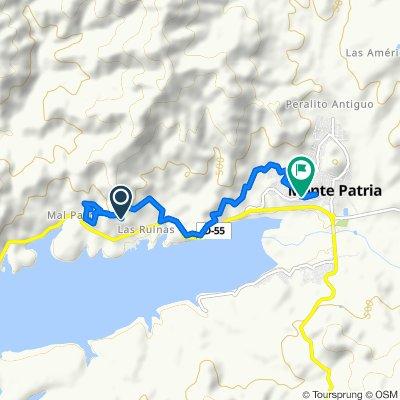 De D-55, Monte Patria a Monterrey 633, Monte Patria