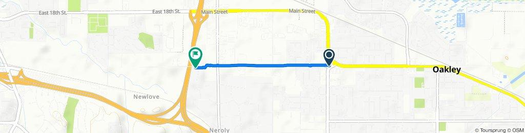 2437 Main St, Oakley to 4995 Calle De Oro, Oakley