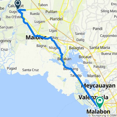 Manila North Road, Calumpit to C. Tongco Street 19a, Malabon