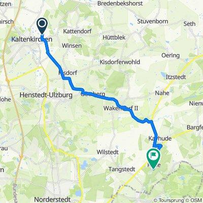 Lakweg 27A, Kaltenkirchen nach Rader Weg 209, Tangstedt