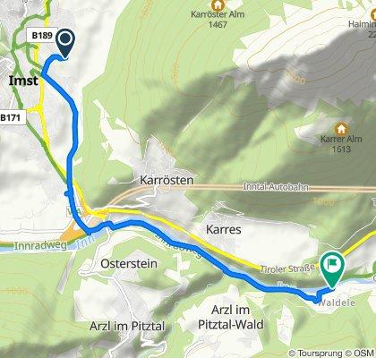 Innradweg: Imst - Innsbruck