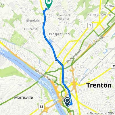 512 Union St, Trenton to 33 Pennwood Dr, Ewing
